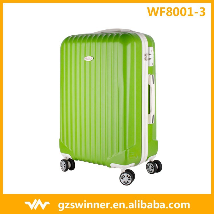 New Style listed Trendy High Quality Grass Green Color Luggage