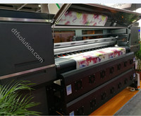 Inkjet printer sublimation printer with 4 print heads