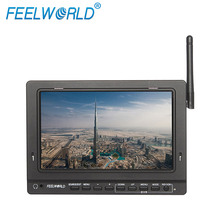 "NEW! FEELWORLD 7"" HDMI car monitor with Built-in AV Wireless Receiver 5.8GHz ,PVR-758"