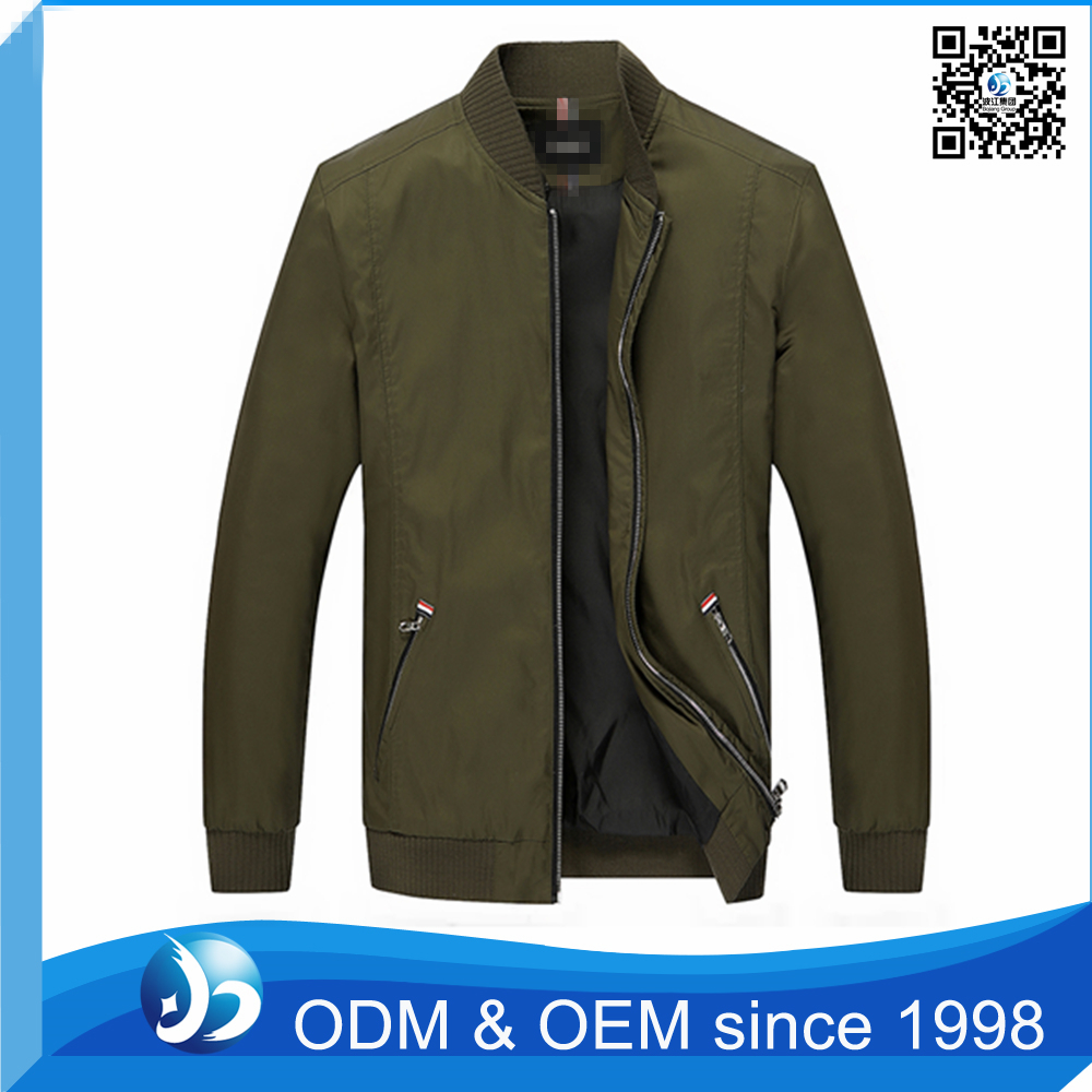Custom Latest Design Mens Winter Double Layer Jacket