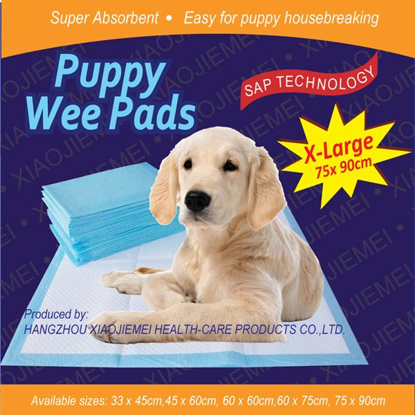 Odour control stops the formation of odours by locking away moisture puppy deluxe training pads