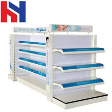New Design ISO9001 convenience store display <strong>shelves</strong> Metal cosmetic display <strong>shelf</strong>