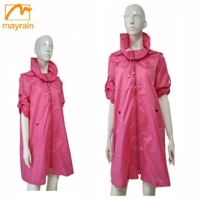 China factory OEM good price navy waterproof Polyester jacket