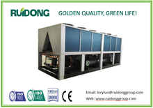 Ruidong brand air cooled screw water chiller or heat pump, high-quality unit