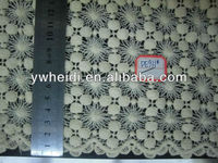 paris shows home texitle white ball pattern lace fabric