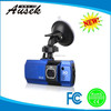 2.7 inch TFT LCD 16:9 car dvr recorder with reversing camera and wirless mini manual detector