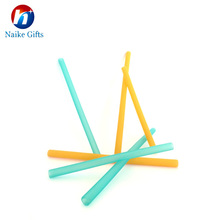 New Design Silicone Drinking Straw Reusable Food Grade FDA material