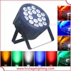 led dj light dmx rgbw led par 18x10w led par light