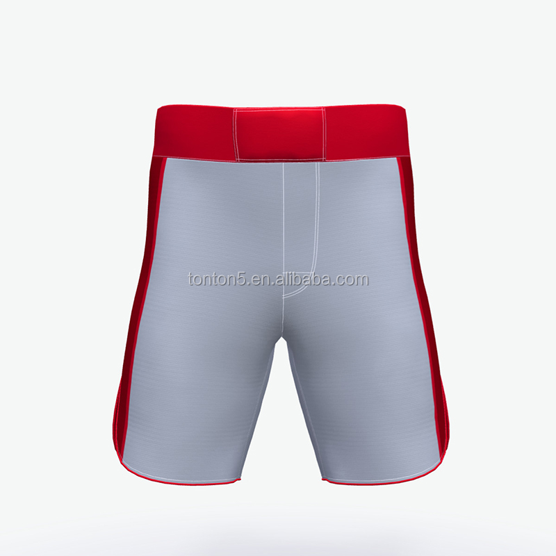 Hot sale mma shorts with custom sublimation printing mma