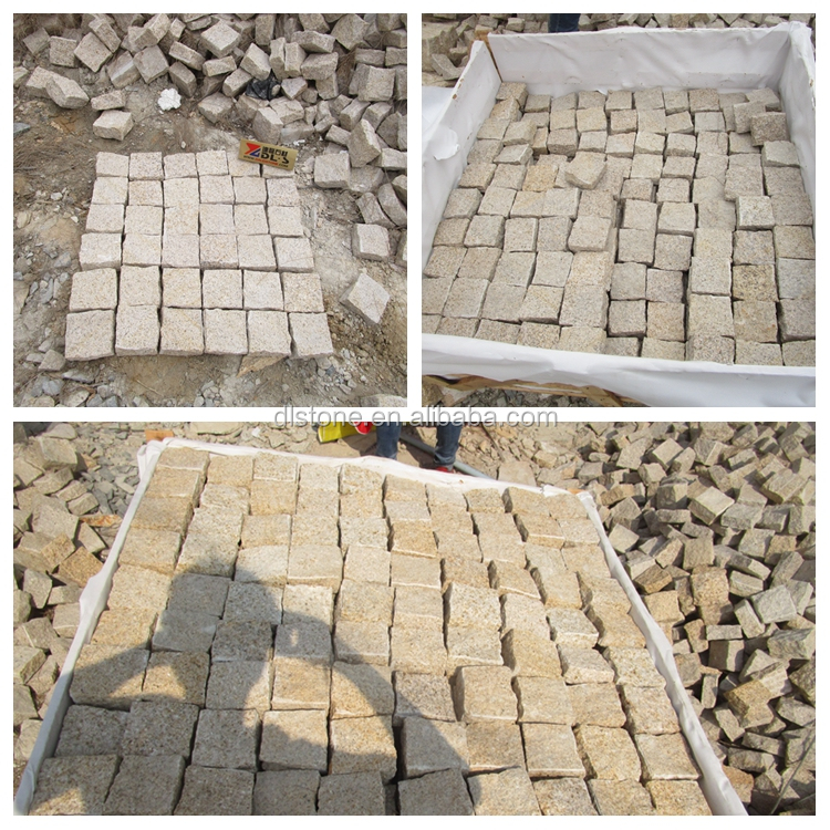 Paveway Bulk wholesale tumbled stones Block granite block Paving stone