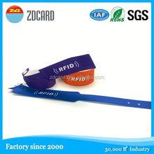 Digital printed standard size nfc silicone wristband classic ultralight chip