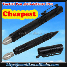 2016 best selling multi-purpose military pen self-defense pen with cheapest price