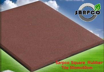 Outdoor Safety Rubber Tiles
