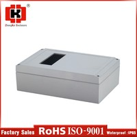 Surface Mount hinge type plastic waterproof electronic enclosures