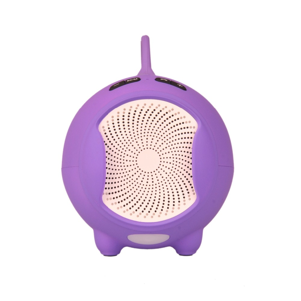 Wireless Bluetooth Speaker Consumer Electronics Accessories Parts Speakers Bluetooth For Hands Free With Alarm Clock Shape