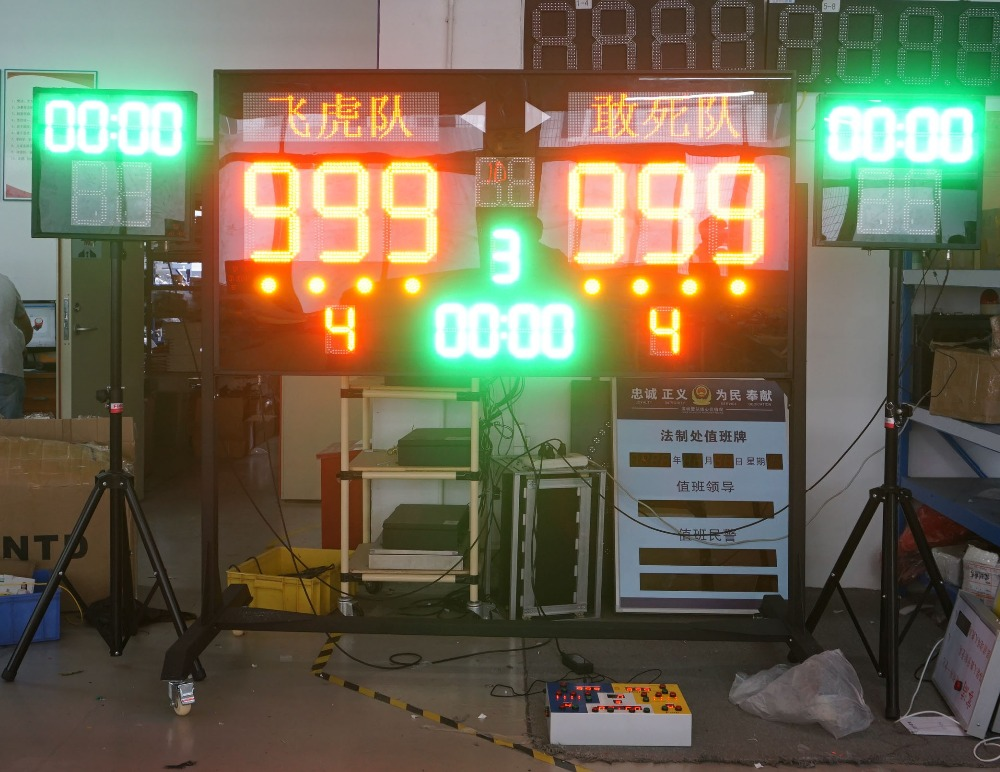 Electronic LED Basketball Football Display Score B Shenzhen Babbitt (Diyatel) Ltd Model of BTF180L95H Led basketballl scoreboard