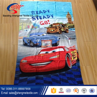 100% cotton photo printed beach towel on beach for active printing