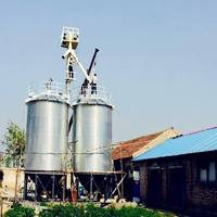 Farm Widely Used Grain Silo Barley Bolted Steel Silo Price with Dryer