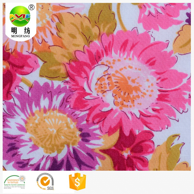 hot sale bingo print fabric cotton printed fabric for apparel