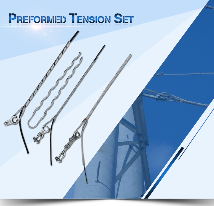 Preformed Armour Rods with ADSS/OPGW Cable