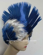 BLUE spike Hair Wigs