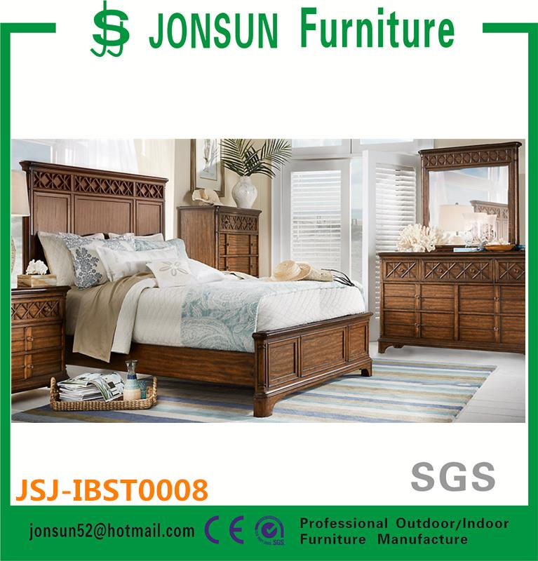 Wooden Bedroom Furniture Set King Size Bed wood furniture