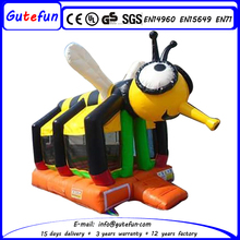 Outdoor/ indoor air jumping castle honeybee inflatable bouncer for kids