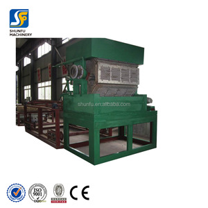 Semi-automatic Capacity 1000-2000piece Paper Egg Tray Making Machinery