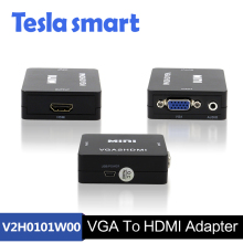 Fashion 1080P HDMI Male to VGA Female Cable Video Converter Adapter HD Conversion Cable with Audio Output