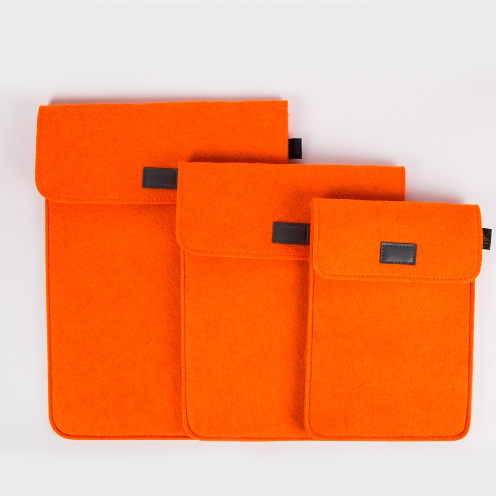 Colored Wool Felt 10 Inch Tablet Case for Ipad