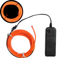 Flexible flashing light el wire wholesale made by manufacturer