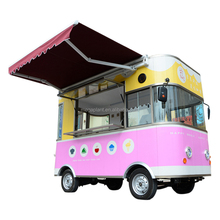 China small electric street mobile food cart/food truck/food trailer for sale