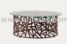 LIVING ROOM FURNITURE - INTEGRA ROUND COFFEE TABLE