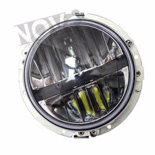 Motorcycle Accessories 20watts 7inch Led Headlamps For Motorcycles