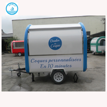 Promotion price customized mobile electric food cart/ shawarma kiosk / food kiosk mall