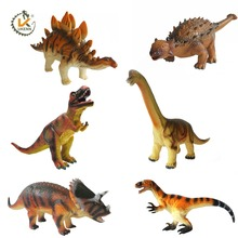 UKENN 3D plastic dinosaur toys educational toys animal model