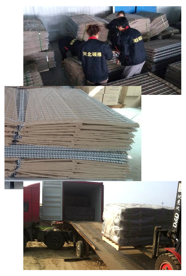 Factory Price !! Welded Mesh Storm Hesco Barriers for Sale