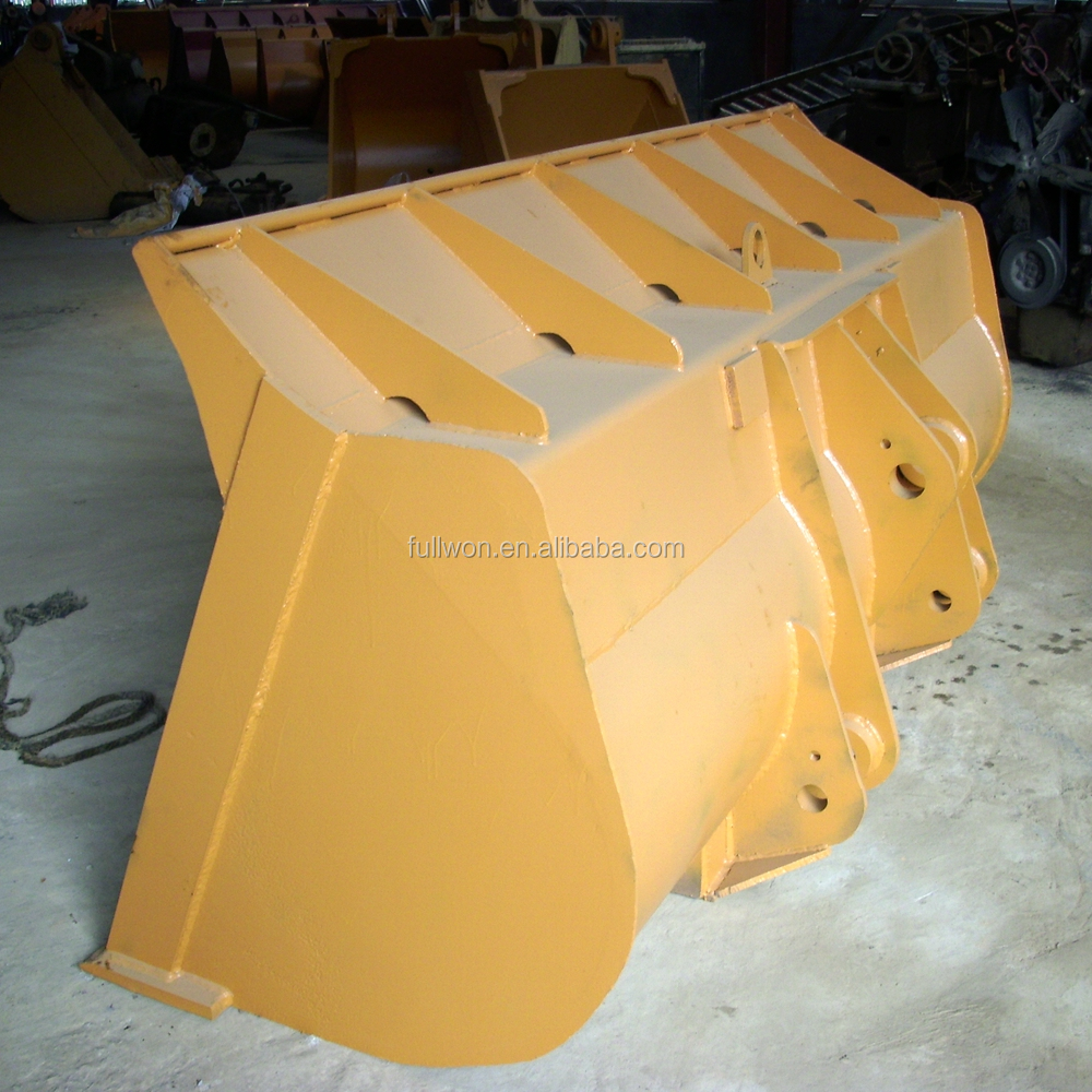 Liugong Wheel loader bucket with teeth or cutting edge for sale