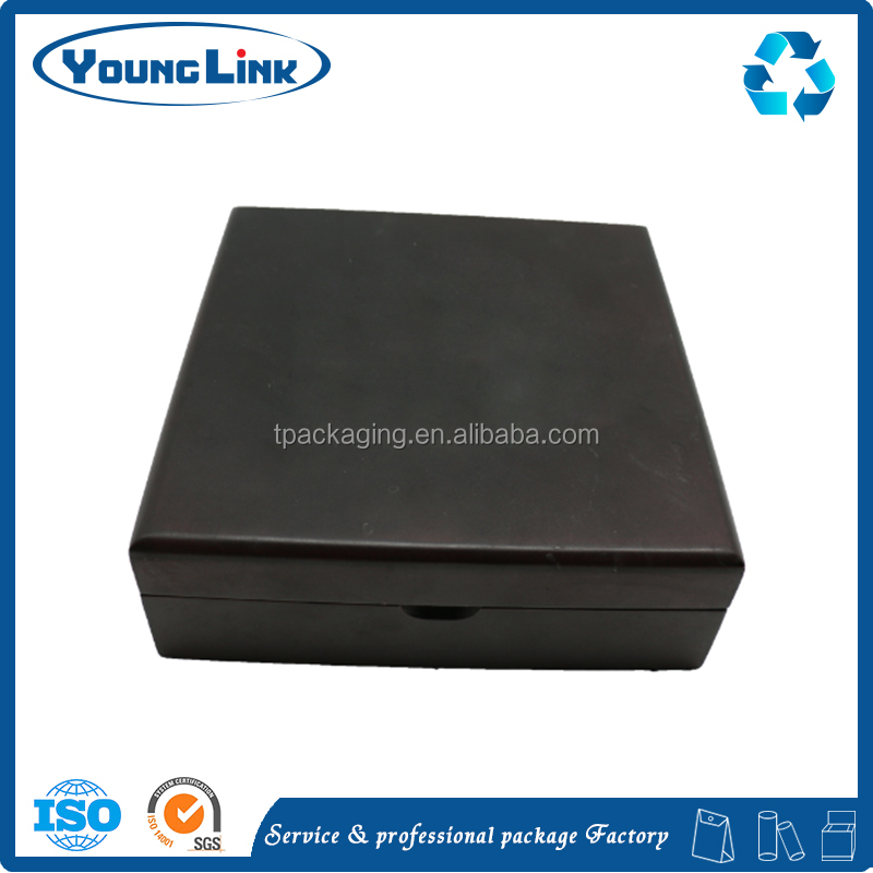 Custom wooden jewelry boxes wood packaging black box for your luxury product