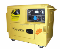 Yihua 50hz 5kva Silent Diesel Generator with ATS and Electronic Ignition