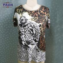 Leopard printed pregnant woman blouses fashion 2017 women blouse tops for girls garment