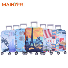 Hot Sell Factory Make Suitcase Cover Neoprene Protective Luggage Cover