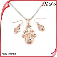 Fashion jewelry casting jewelry designs 2014 indian pink world imitation jewelry set