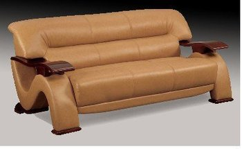 Contemporary Leather Sofa - Modern Design - CHT048