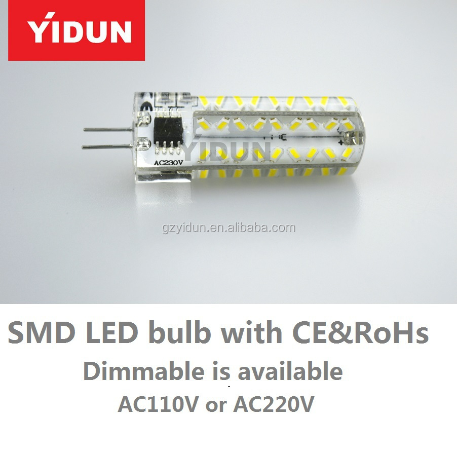 OEM&ODM brand cob g4 led lamp/3w led bulb/5w with g4/g9/gy6.35 base led light