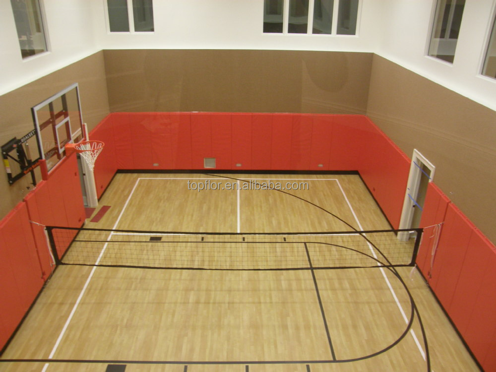 Topflor Maple Design Extreme Sports In Basketball Court