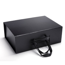 Sliding Cardboard Paper Drawer Packaging Promotional Gift Box With Handle