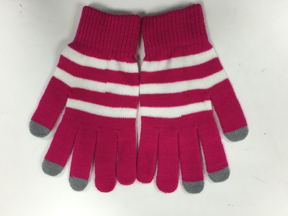 new style knitted screen touch gloves