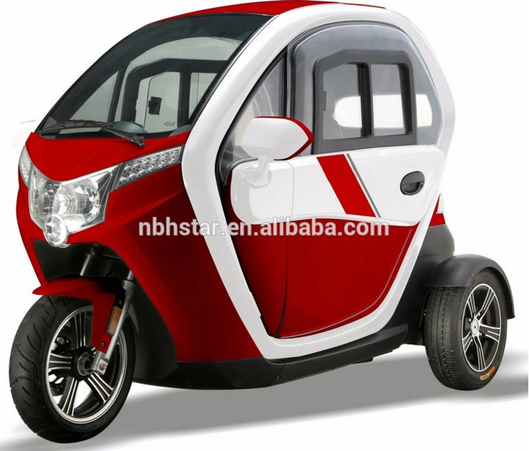 Adult electric tricycle with adjustable seat | electric passenger tricycle