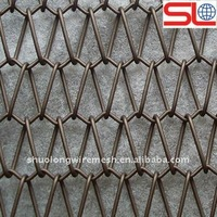 High quality colored metal mesh wall hanging curtain